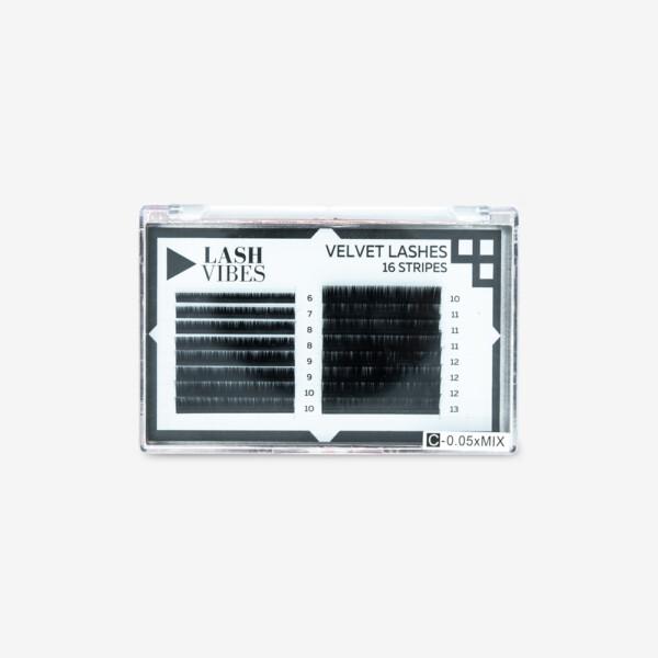 Velvet Lashes 16 Stripes - C 0.05 Mix