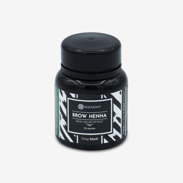 Brow Henna Deep Black