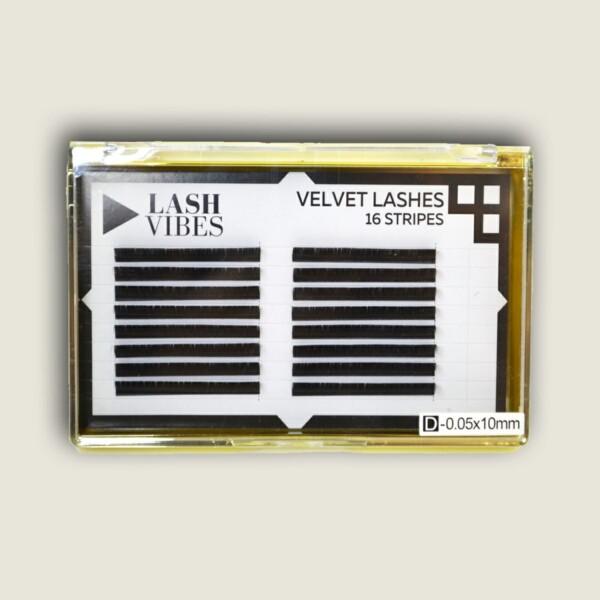 Velvet Lash 16 Strisce 0.05 D